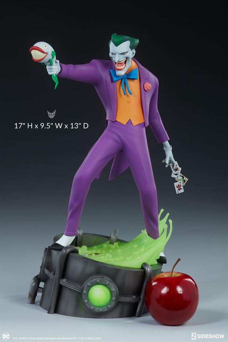 Batman: The Animated Series - Joker Statue | Merchandise