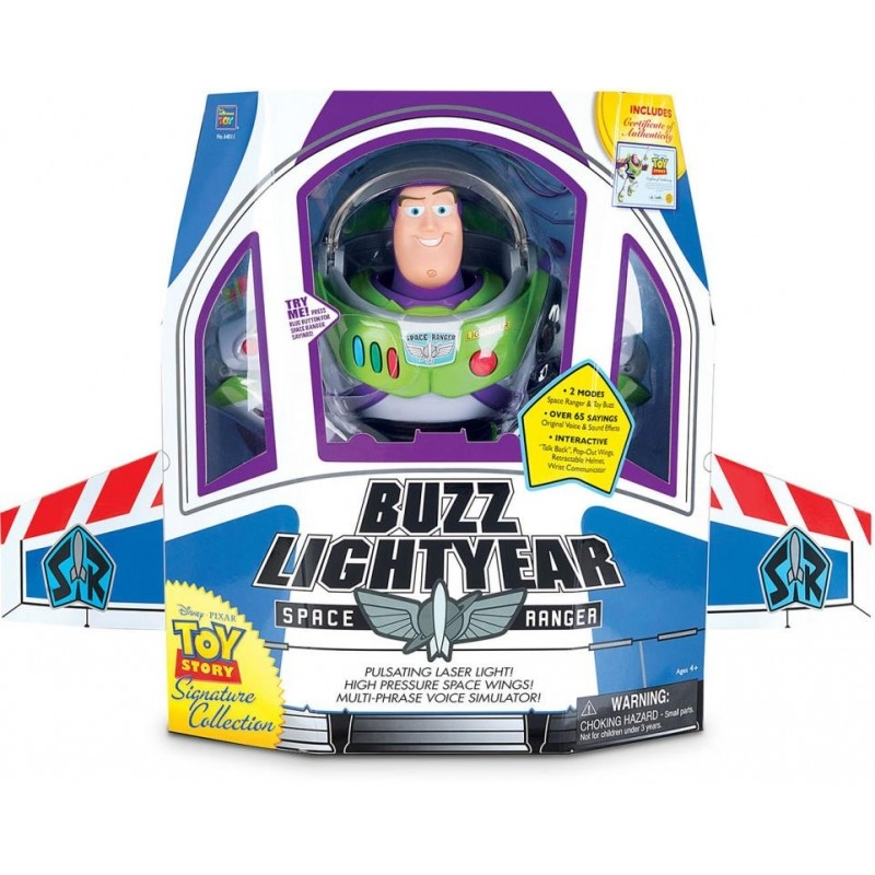 "Toy Story Buzz Lightyear 12"" Space Ranger Signature Collection 