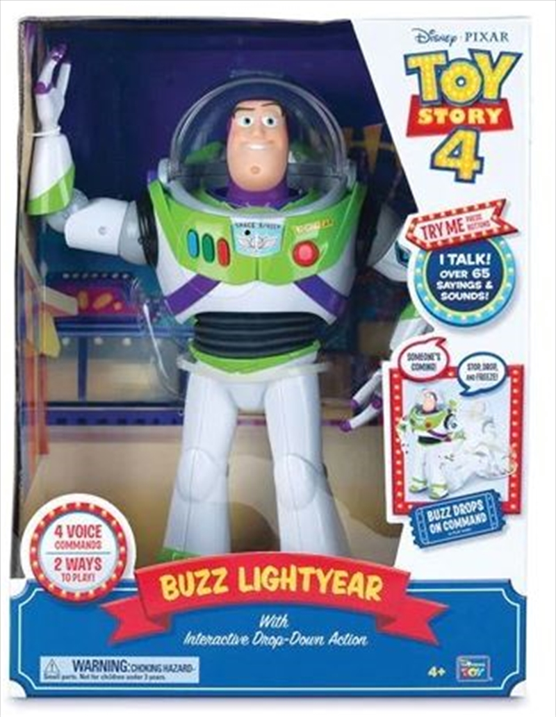 """Toy Story - Buzz Lightyear 12"""" Feature Talking Toy 