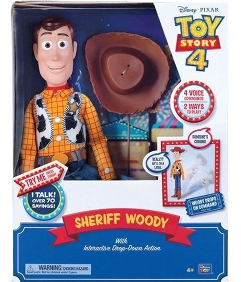 "Toy Story Sheriff Woody 16"" Feature Talking Toy 