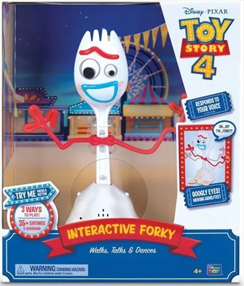 Toy Story 4 - Forky 10 Inch Feature Talking Toy | Toy