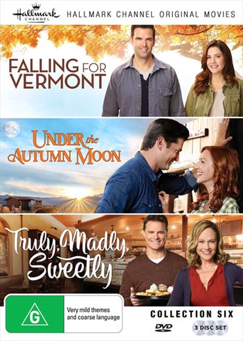 Hallmark - Falling For Vermont / Under The Autumn Moon / Truly Madly Sweetly - Collection 6 | DVD