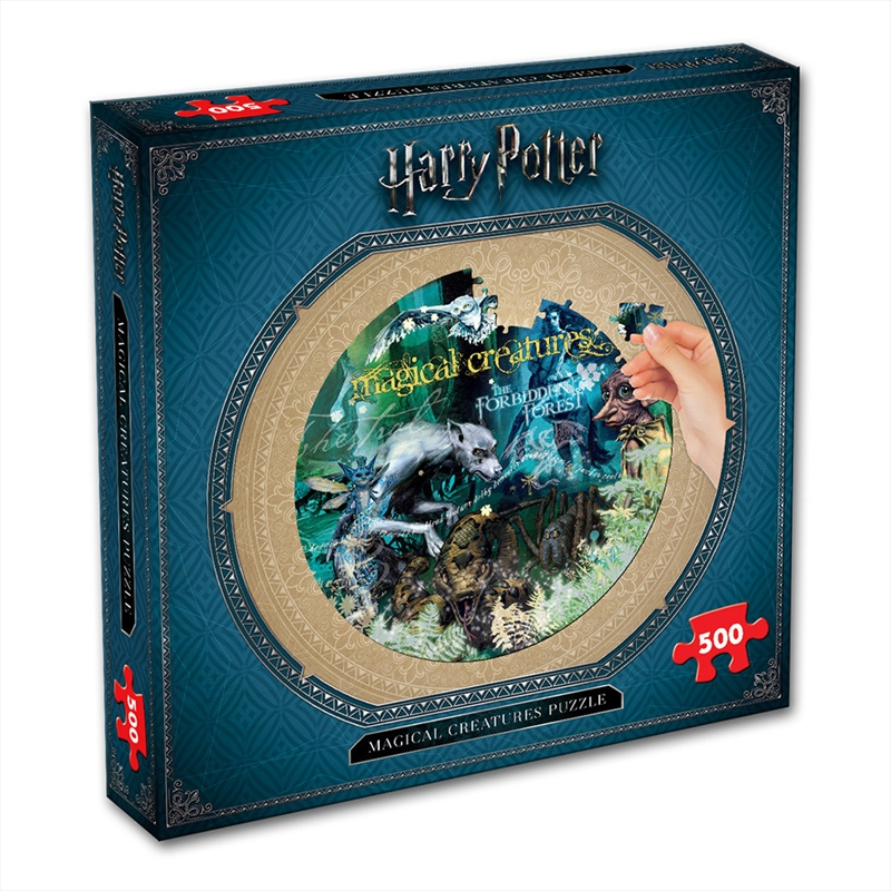 Harry Potter Magical Creatures 500 Piece Puzzle | Merchandise