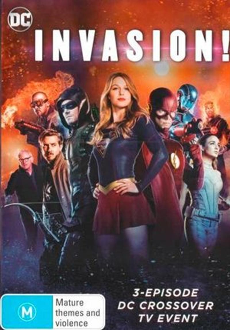 Invasion DC Crossover - Seasons 1 - 6 | DVD