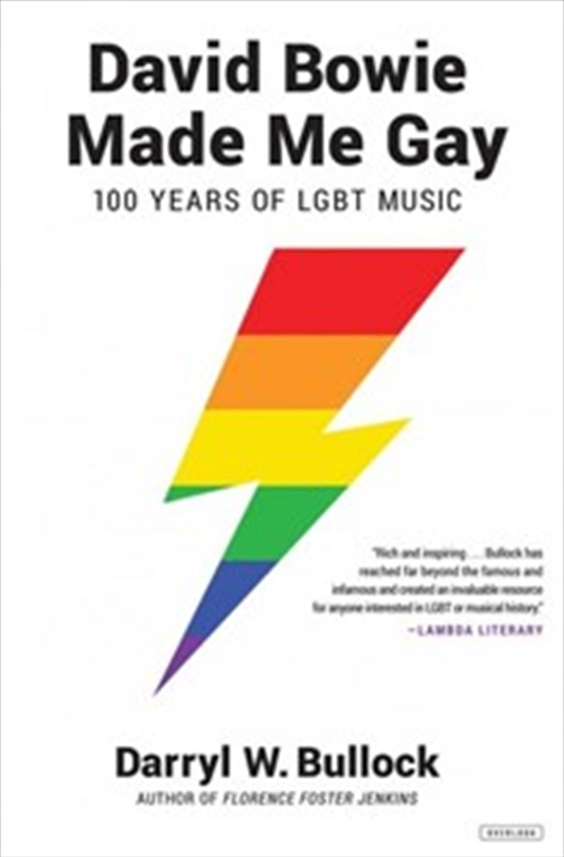 David Bowie Made Me Gay   Paperback Book