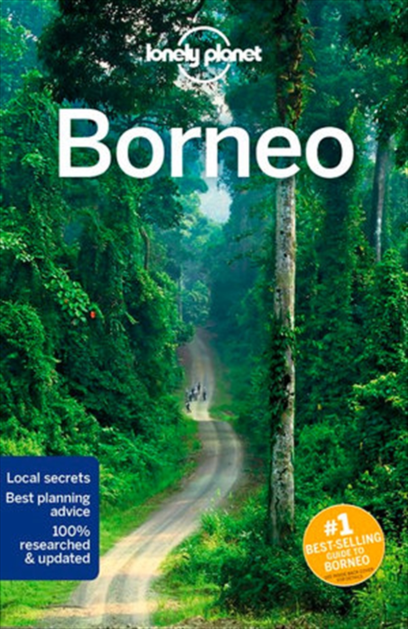 Lonely Planet Travel Guide - Borneo 5 | Paperback Book