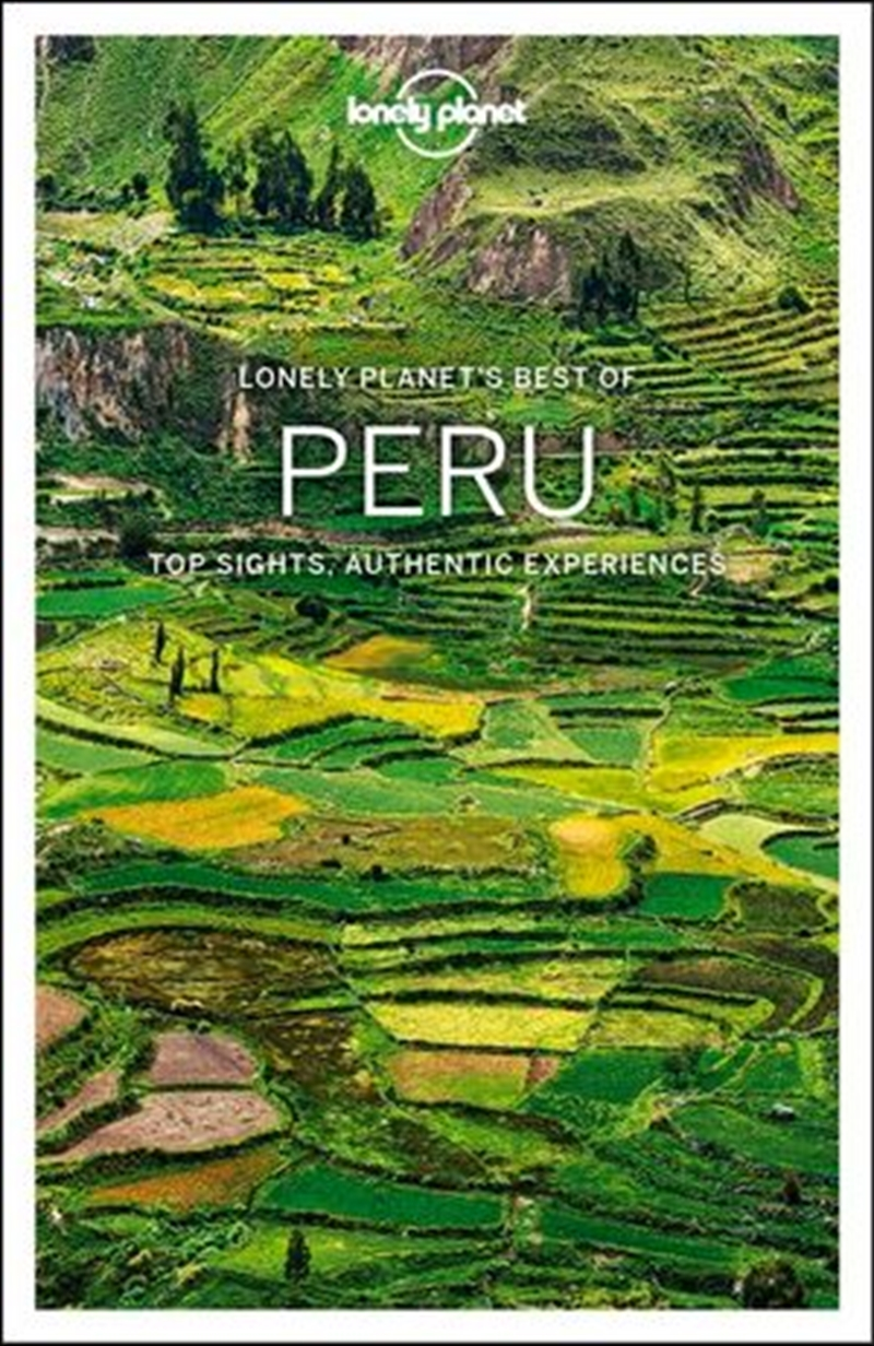 Lonely Planet Travel Guide - Best Of Peru 2 | Paperback Book