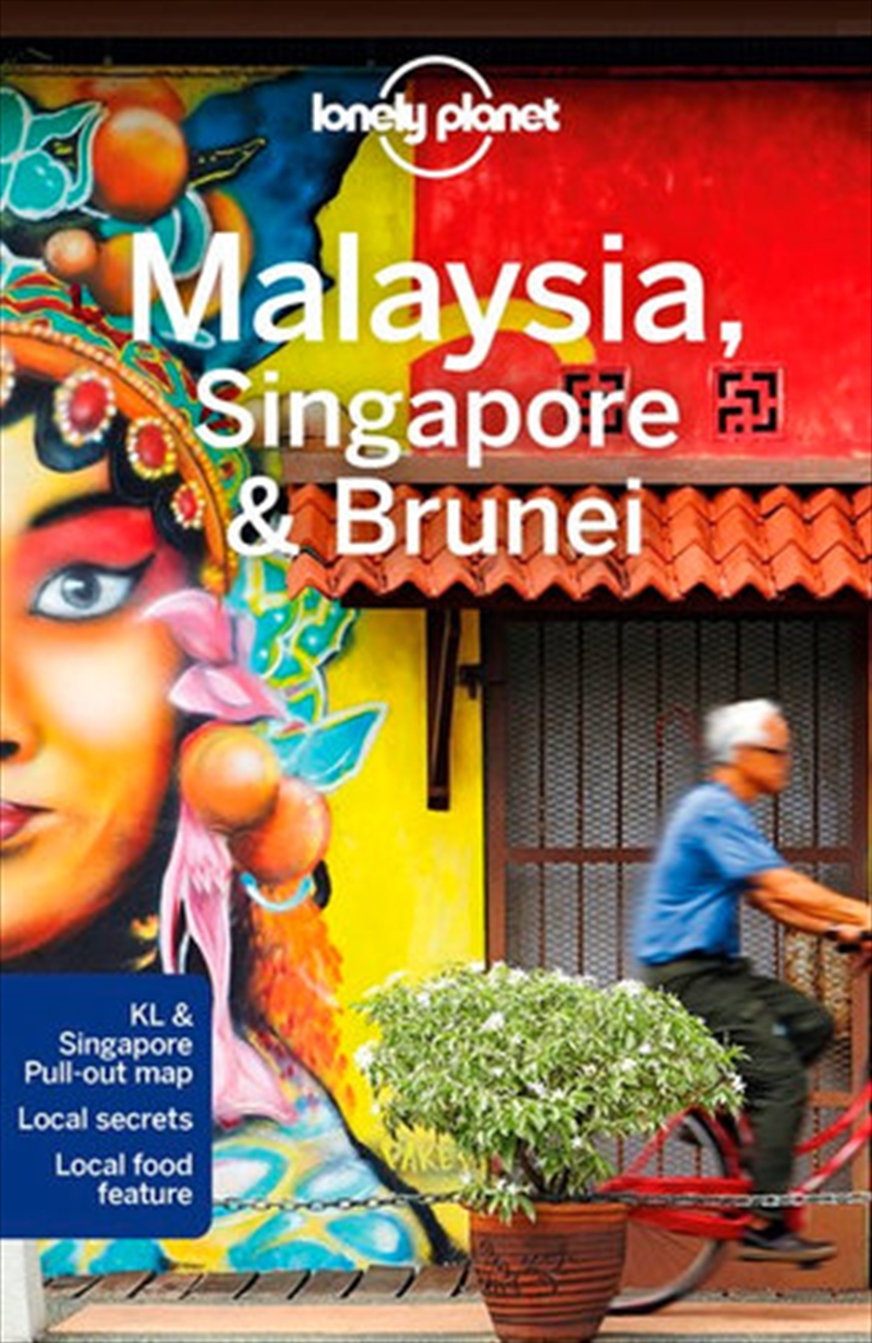 Lonely Planet Travel Guide - Malaysia Singapore And Brunei | Paperback Book