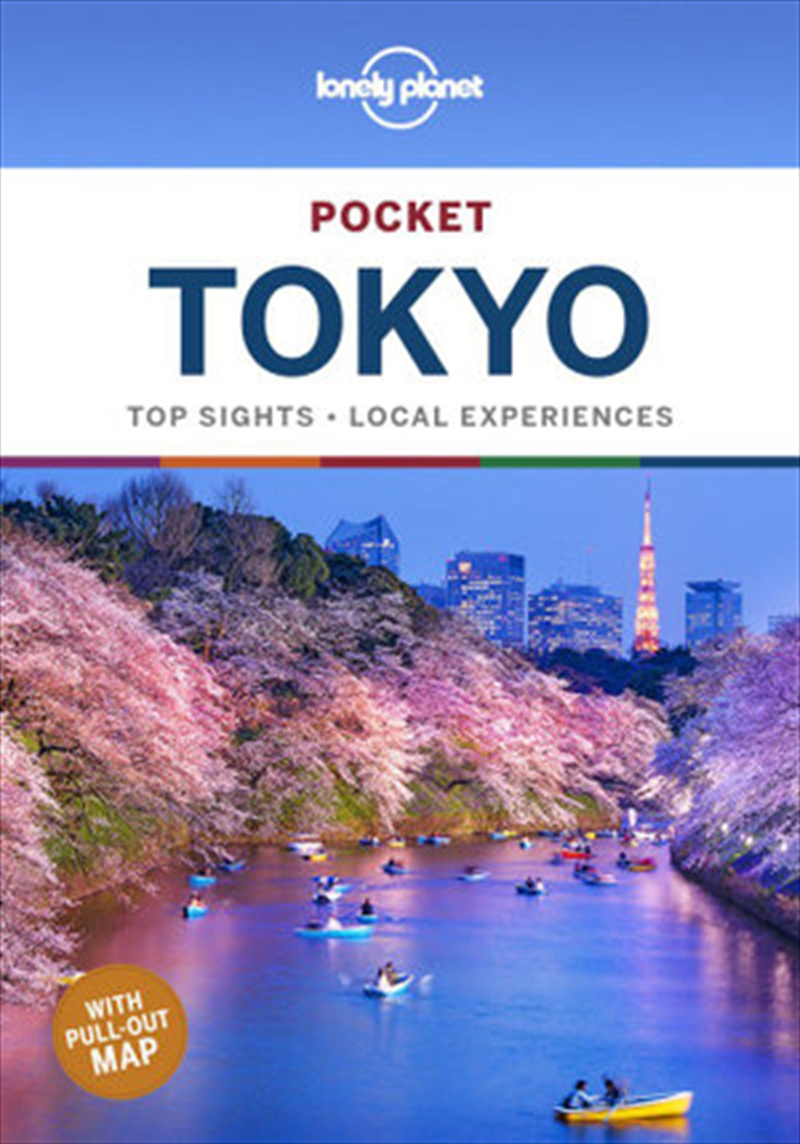 Lonely Planet Pocket Travel Guide Tokyo | Paperback Book