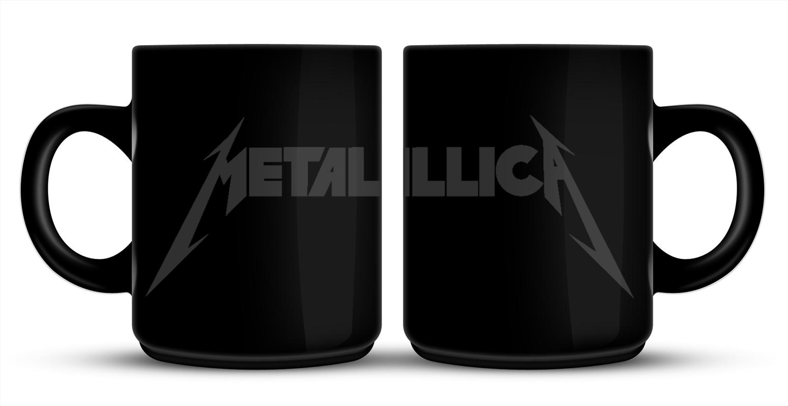 Metallica Mug - Grey Logo | Merchandise