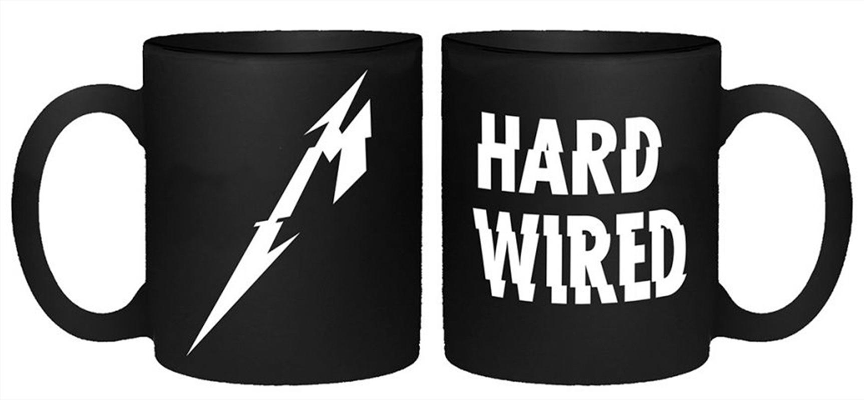 Metallica Mug - Hardwired   Merchandise