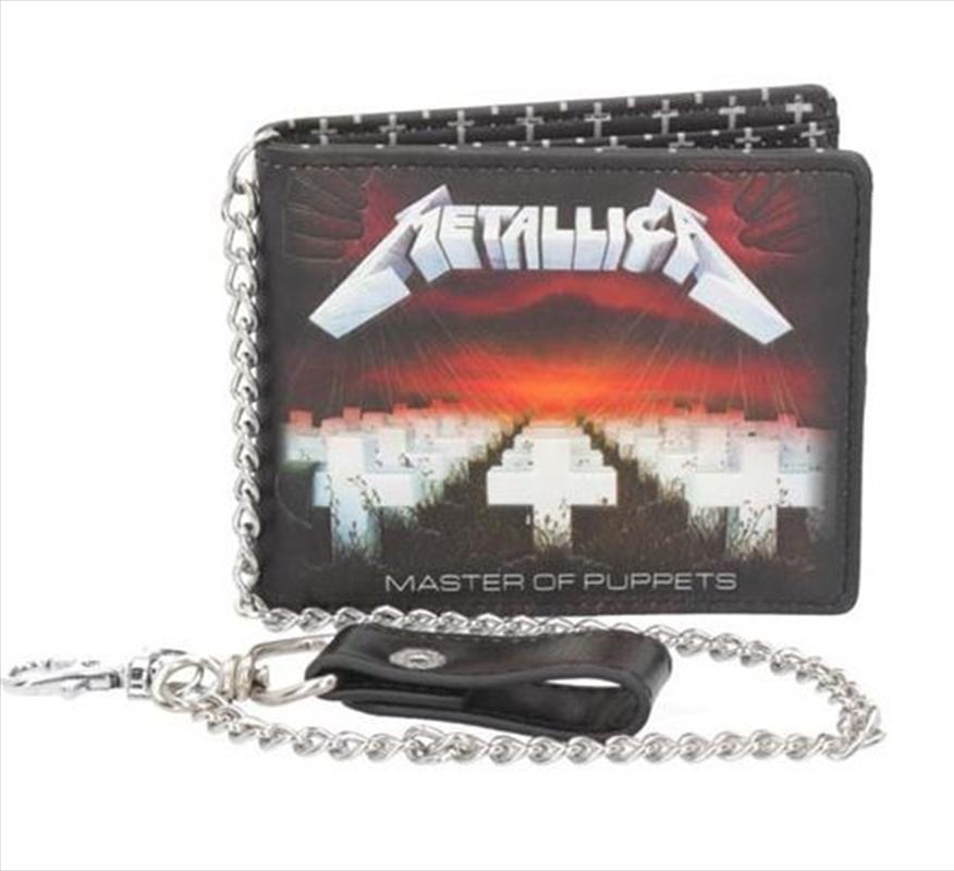 Metallica Wallet - Master Of Puppets | Apparel