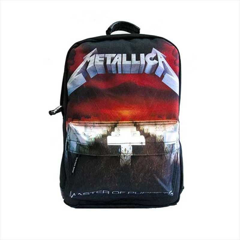 Metallica Backpack - Master Of Puppets | Apparel