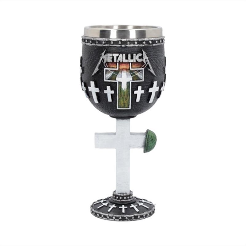 Metallica Glass - Master Of Puppets: Wine Goblet | Merchandise