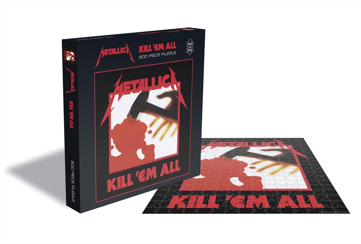 Metallica Puzzles - Kill Em All: 500pcs | Merchandise