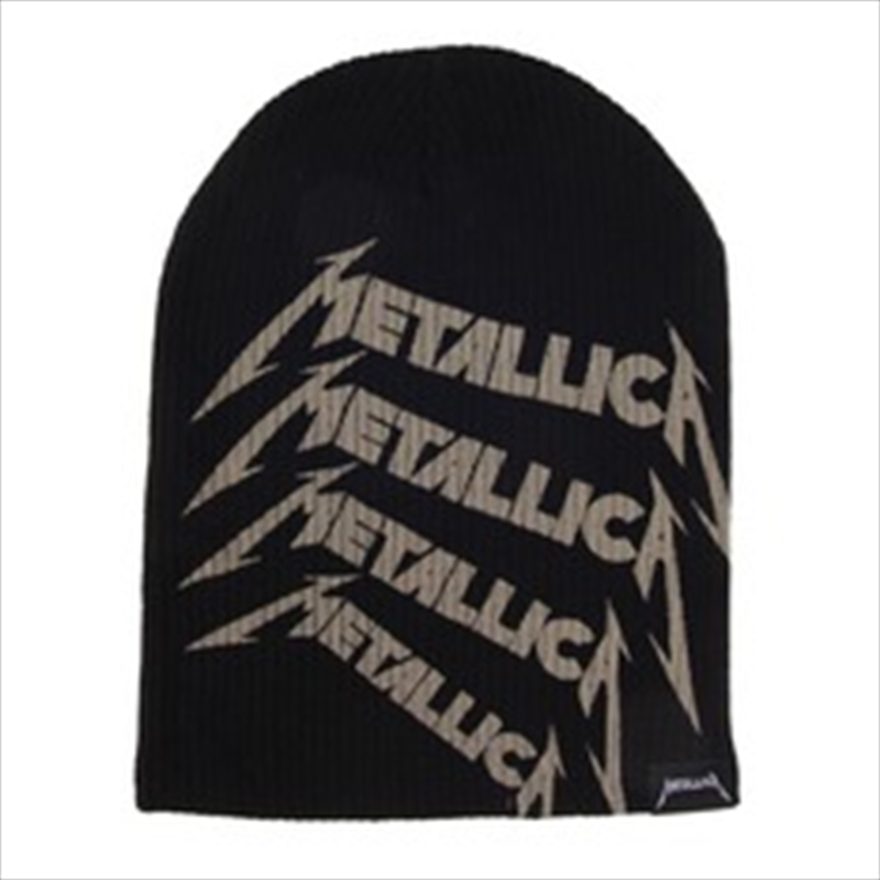 Metallica Beanie - Repeat Logo | Apparel