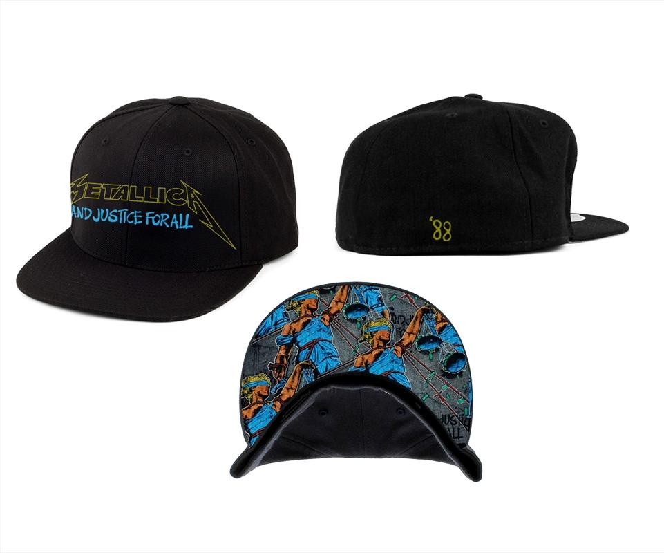 Metallica Justice Bright Start: Snapback Hat   Apparel