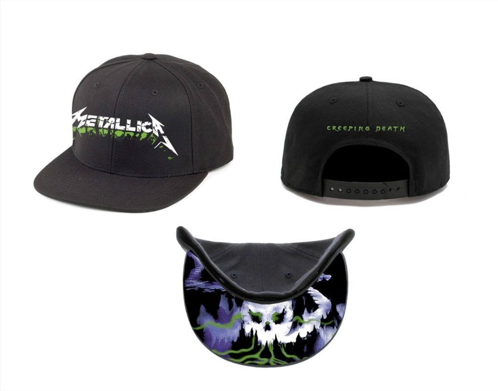 Metallica Creeping Death: Snapback Hat | Apparel