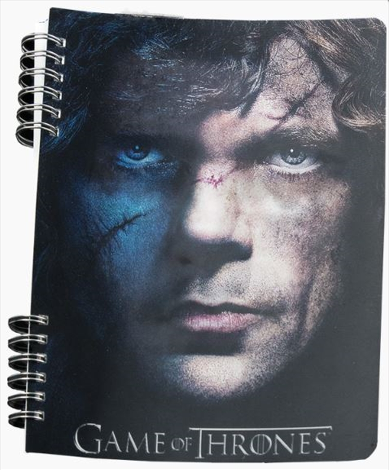 Game of Thrones - Faces Lenticular Journal | Merchandise