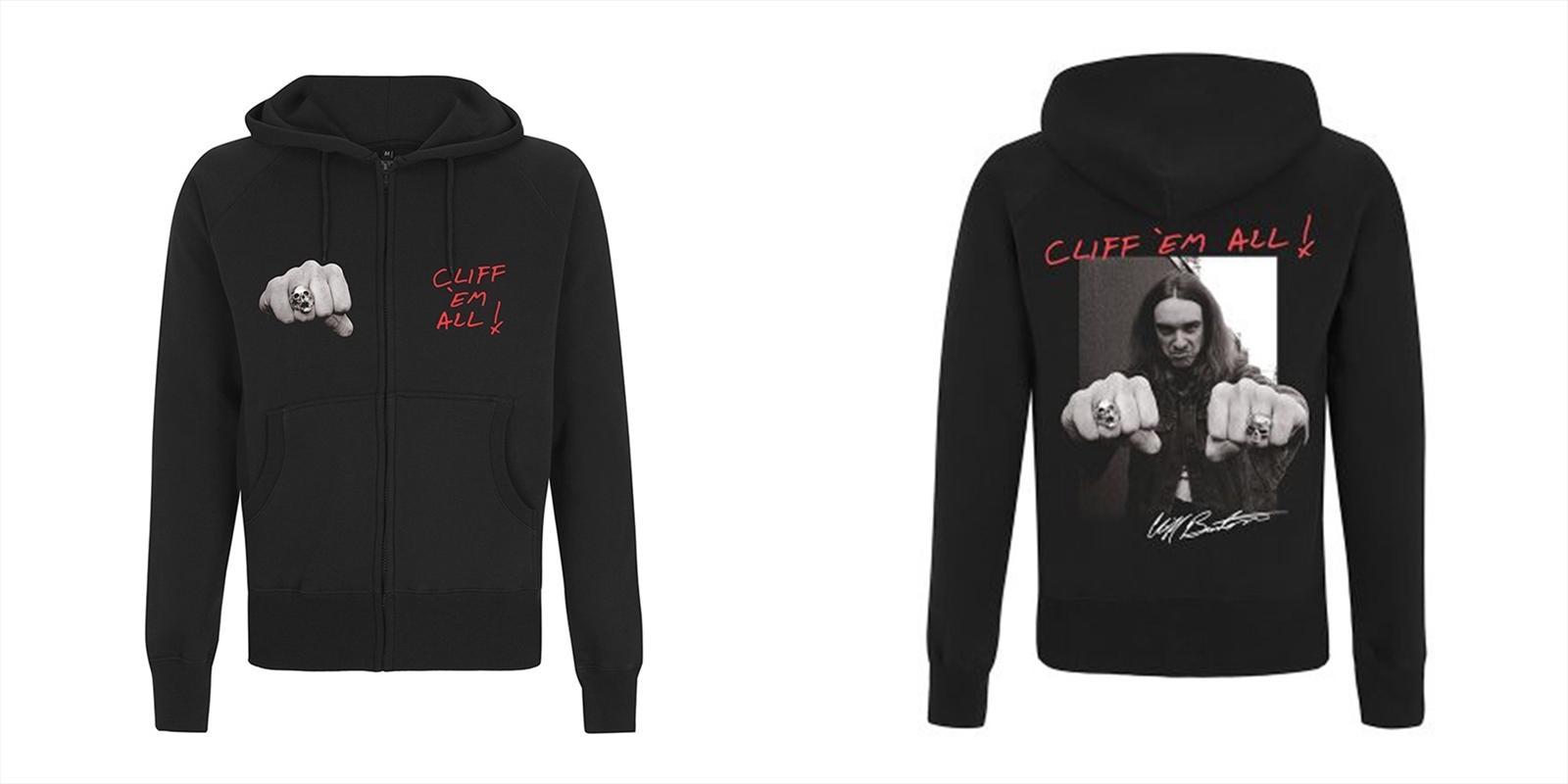 Metallica - Cliff Burton Fist: Sweatshirt: L | Merchandise
