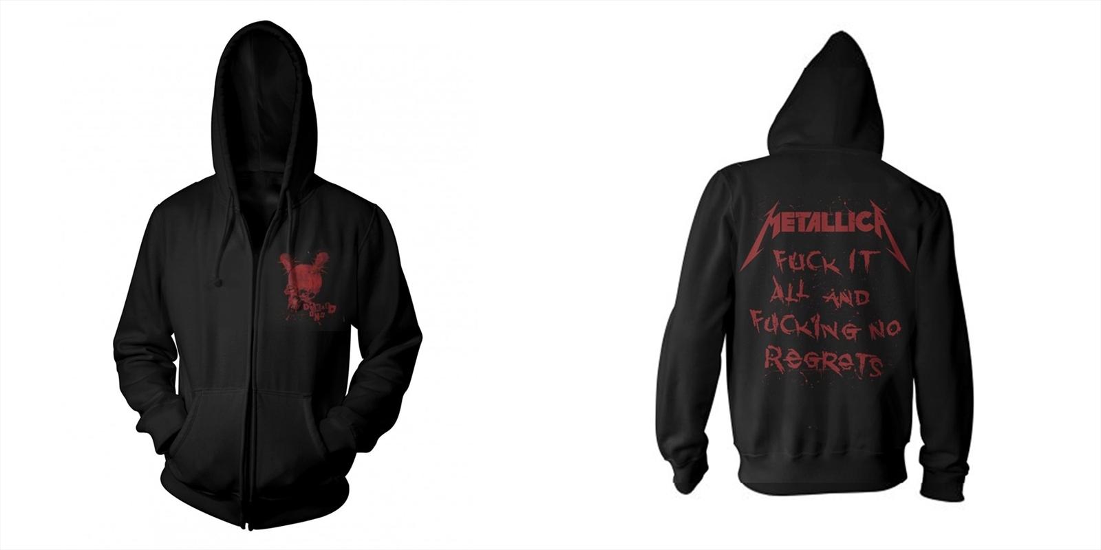 Metallica - No Regrets: Sweatshirt: XXL   Merchandise