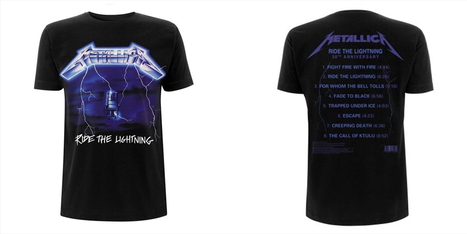 Metallica Ride The Lightning: Tshirt XXL | Apparel