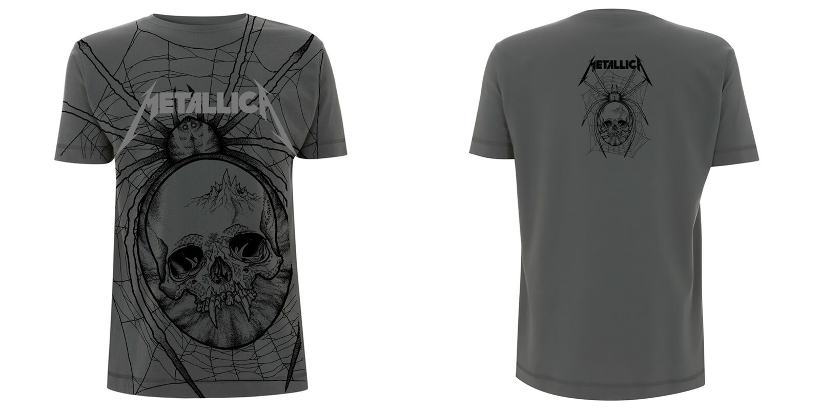 Spider All Over: Tshirt: M | Apparel