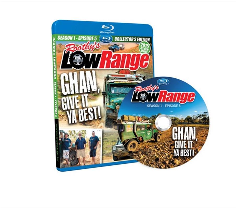 Lowrange - Season 1 Episode 5 - Ghan Give It | Blu-ray