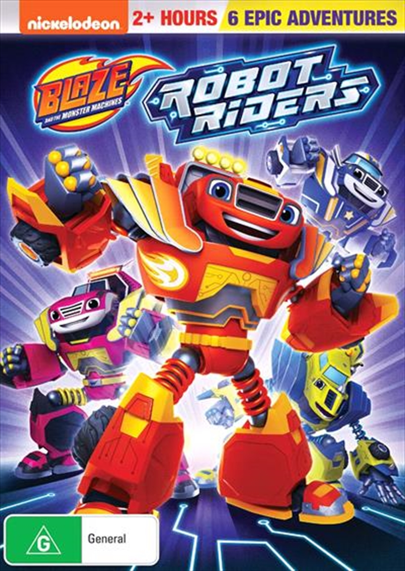 Blaze And The Monster Machines - Robot Riders | DVD