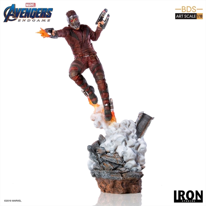 Avengers 4: Endgame Star Lord 1:10 Scale Statue | Merchandise