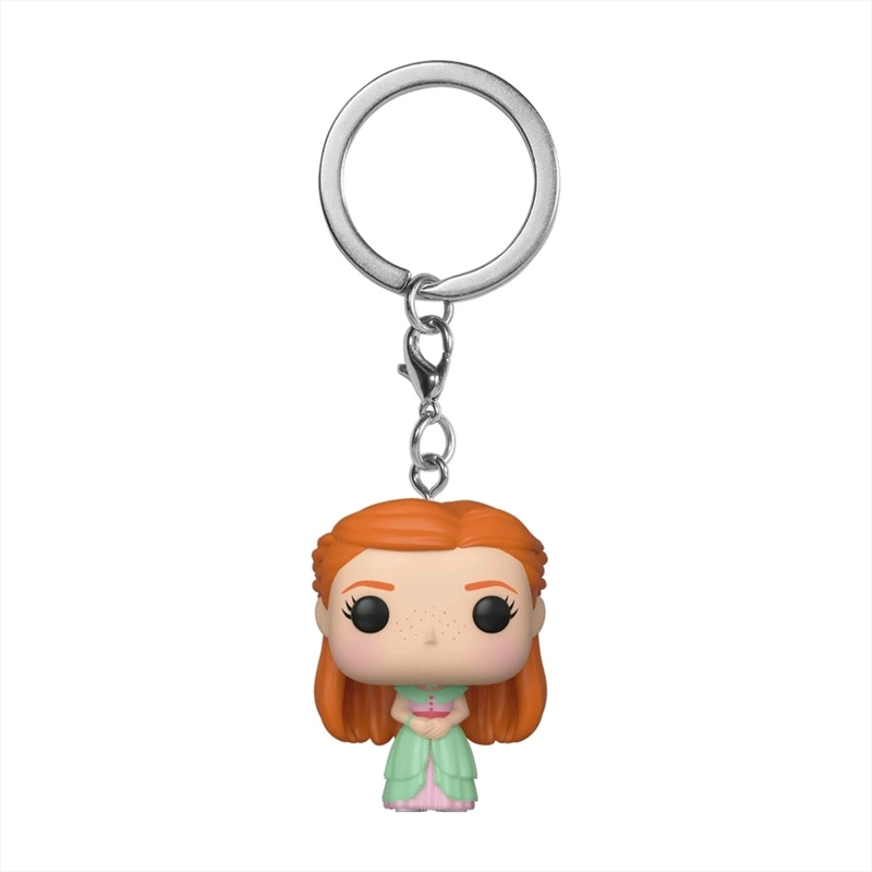 Harry Potter - Ginny Weasley Yule Pocket Pop! Keychain | Pop Vinyl