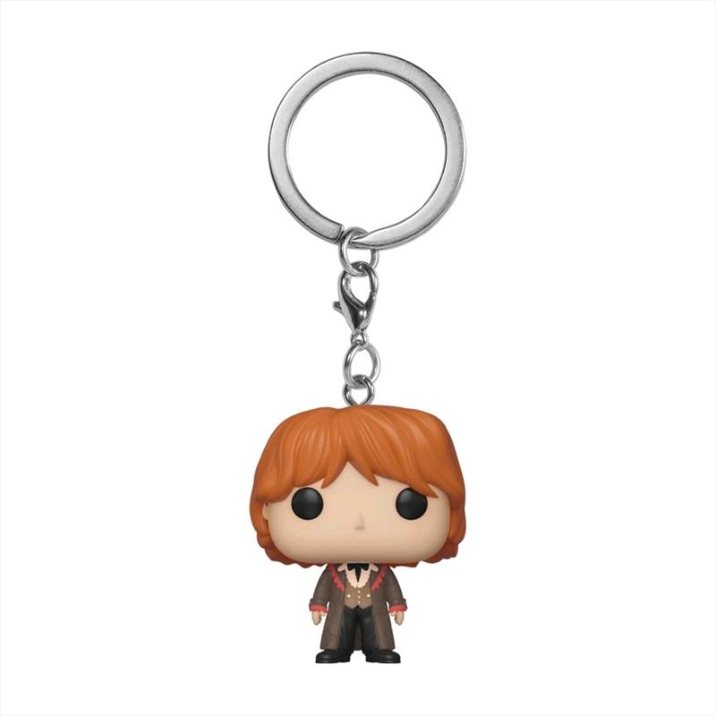 Harry Potter - Ron Weasley Yule Pocket Pop! Keychain | Pop Vinyl