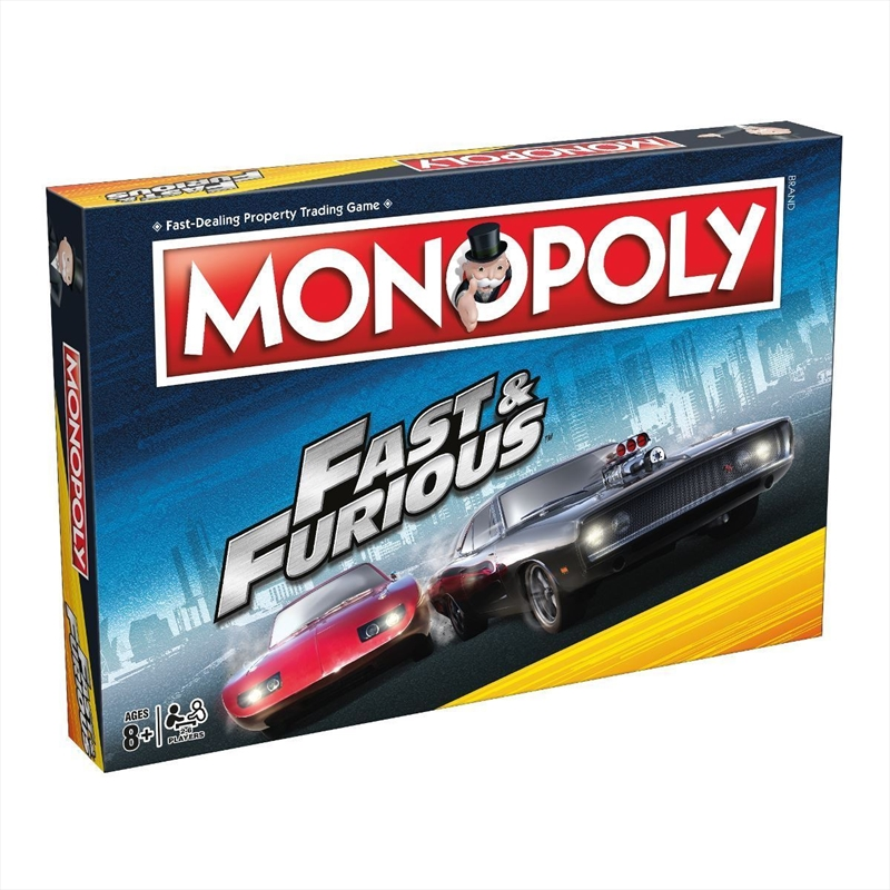 Monopoly - Fast And Furious | Merchandise