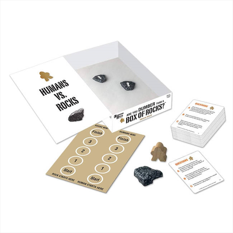 Are You Dumber Than A Box Of Rocks   Merchandise