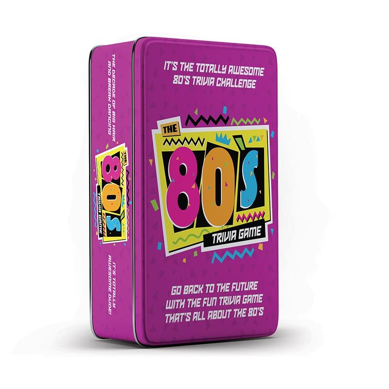 80s Trivia Game Tin | Merchandise