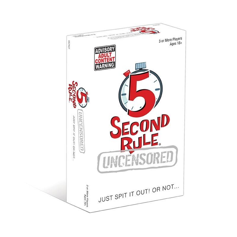 5 Second Rule Uncensored | Merchandise