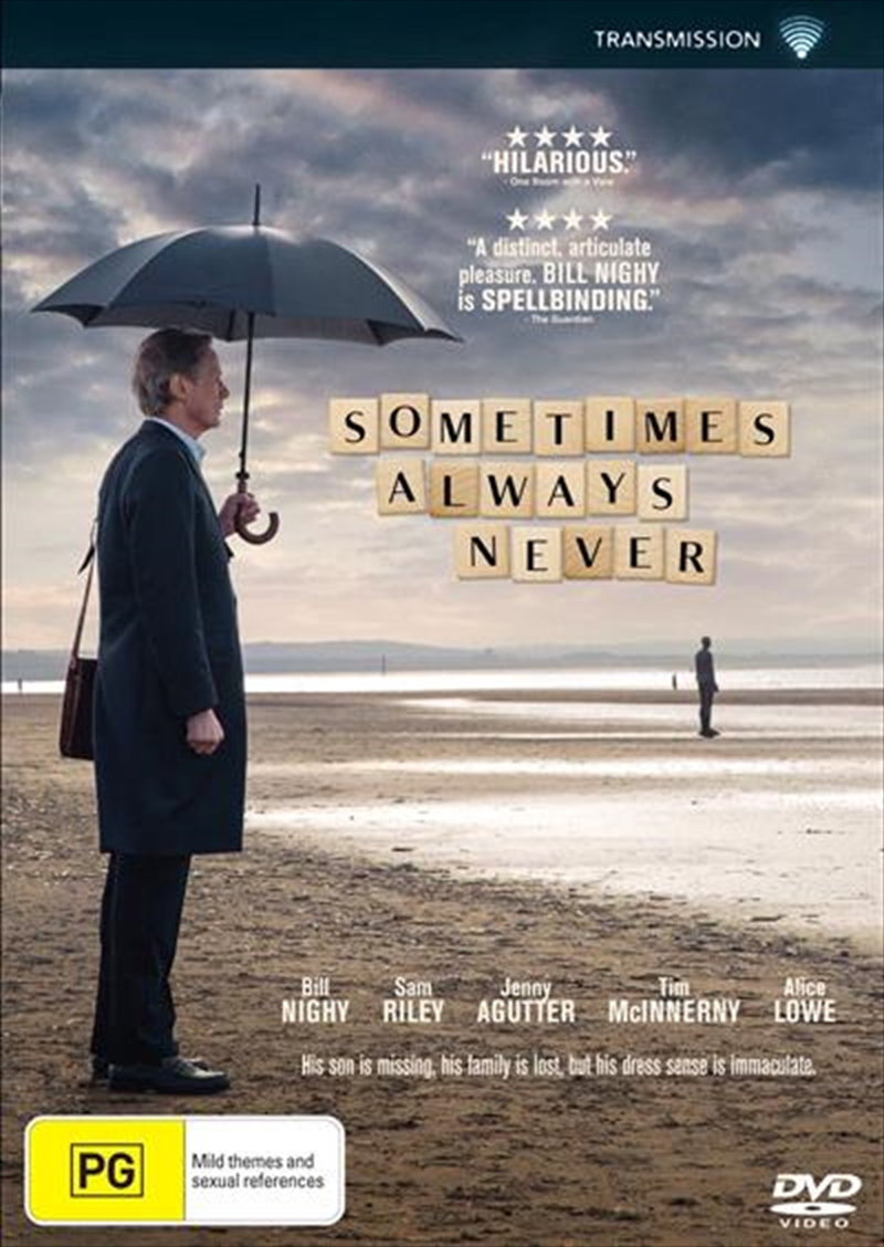 Sometimes Always Never | DVD