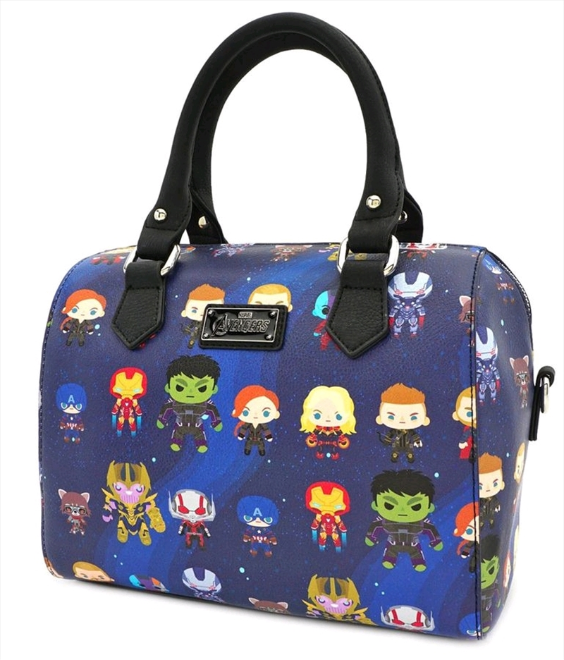 Avengers 4: Endgame - Chibi Print Mini Duffle Bag | Apparel
