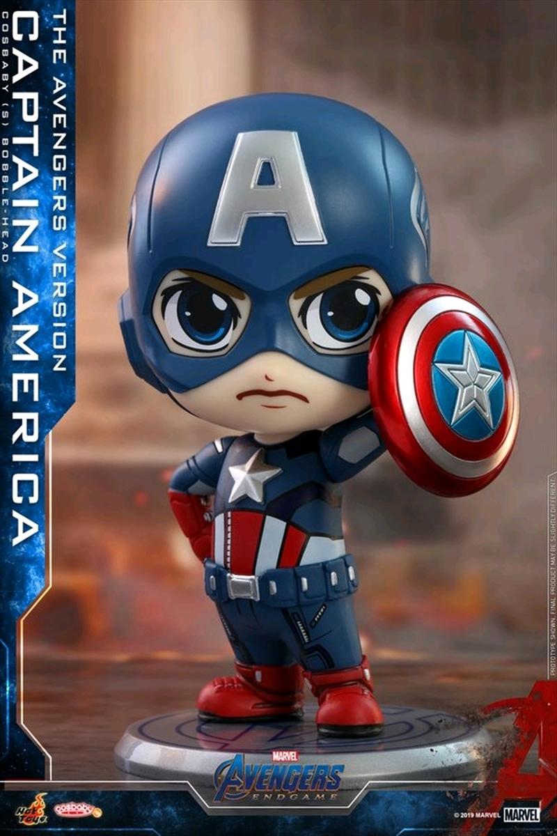 Avengers 4: Endgame - Captain America Cosbaby | Merchandise