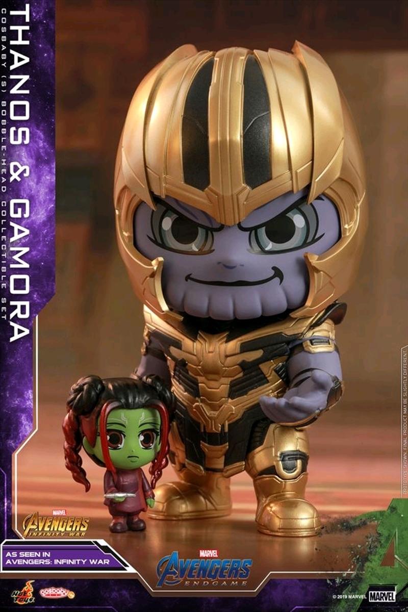 Avengers 4: Endgame - Thanos & Gamora Cosbaby Set | Merchandise