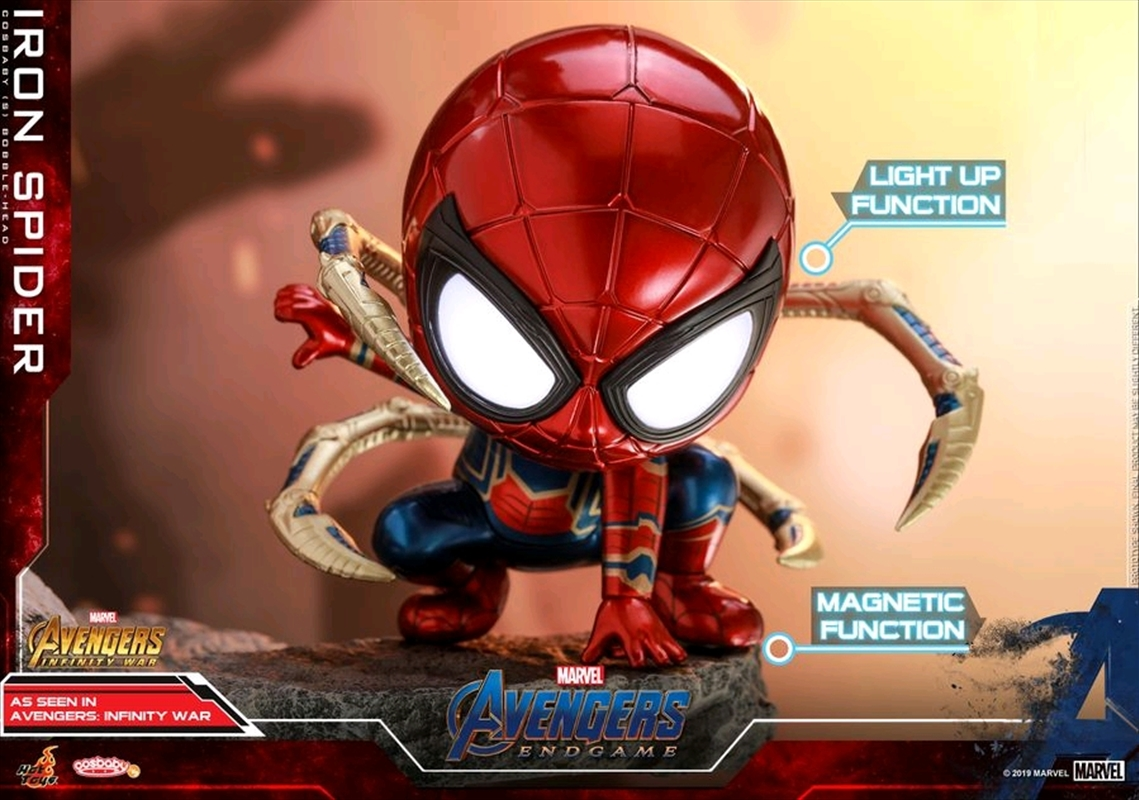 Avengers 4: Endgame - Iron Spider Crouching Cosbaby | Merchandise