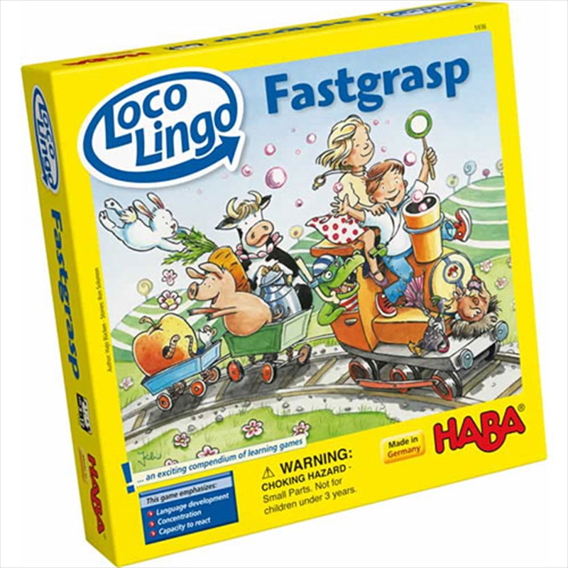 Loco Lingo Fastgrasp | Merchandise