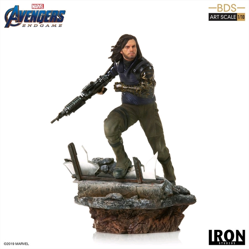 Avengers 4: Endgame - Winter Soldier 1:10 Scale Statue | Merchandise