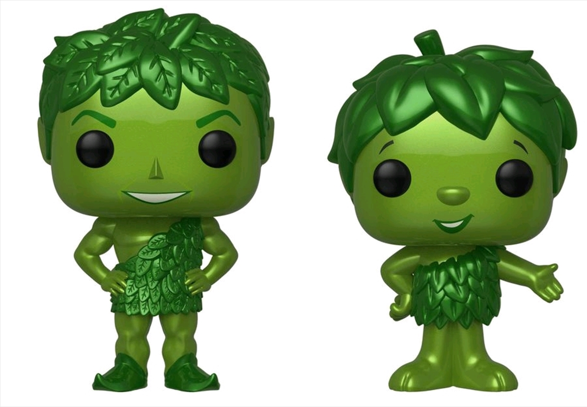 Ad Icons - Green Giant & Sprout Metallic US Exclusive Pop! Vinyl 2-pack [RS]   Pop Vinyl