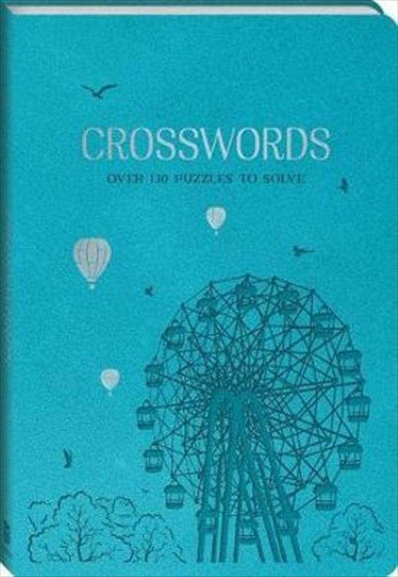 Leather Deluxe Puzzles - Crosswords | Paperback Book