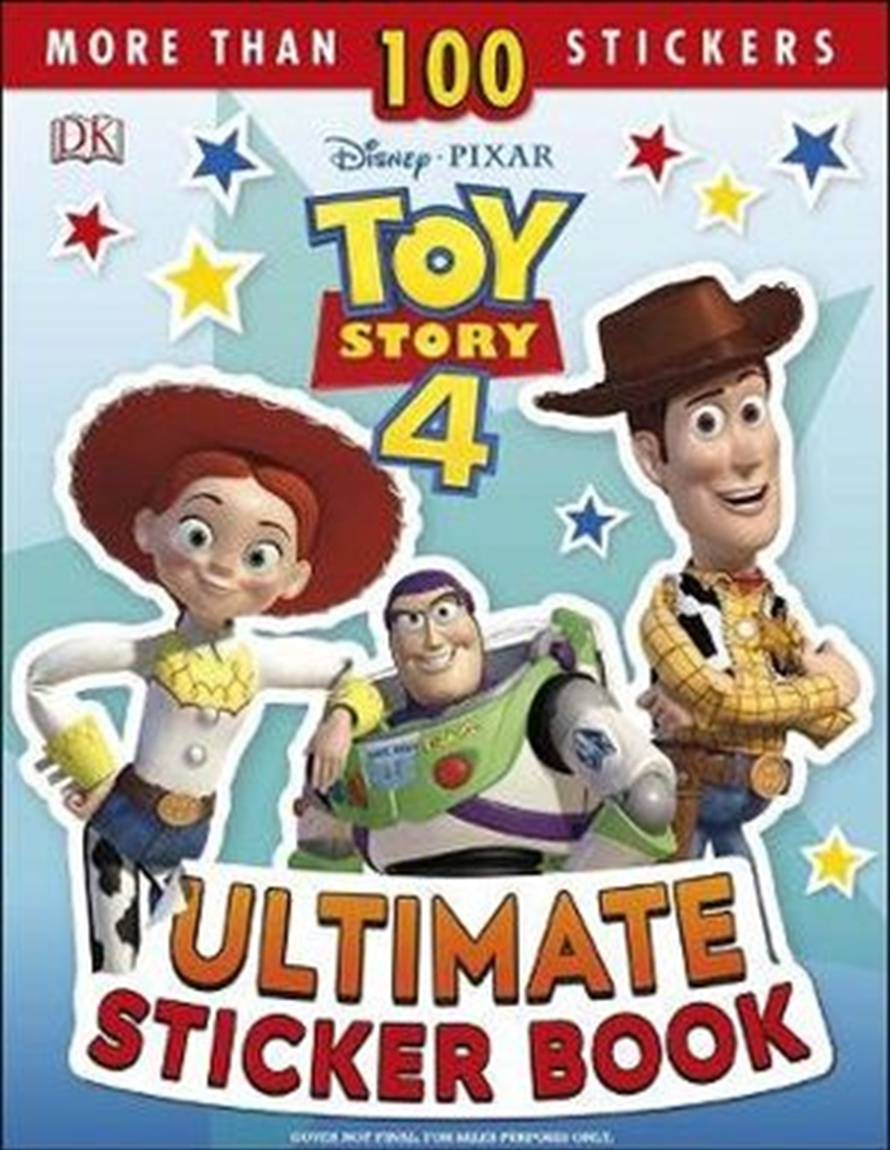 Toy Story 4 Ultimate Sticker Book | Paperback Book