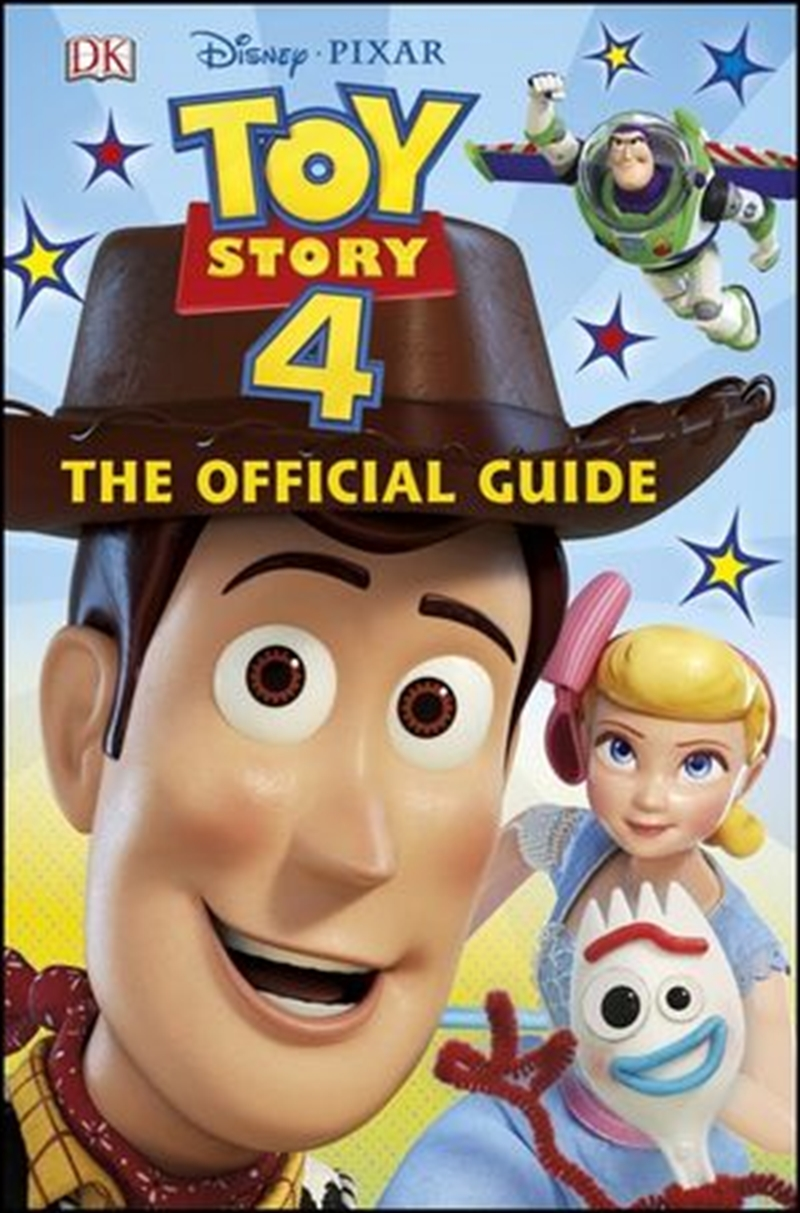 Disney Pixar Toy Story 4 The Official Guide | Hardback Book