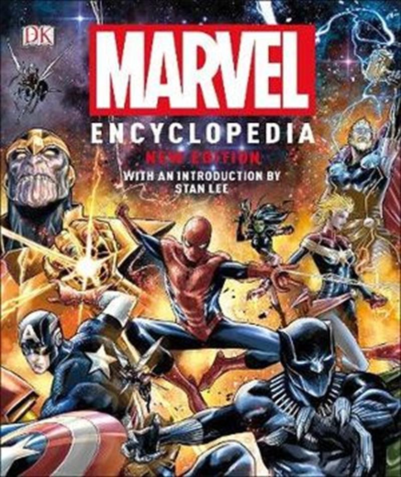 Marvel Encyclopedia New Edition | Hardback Book