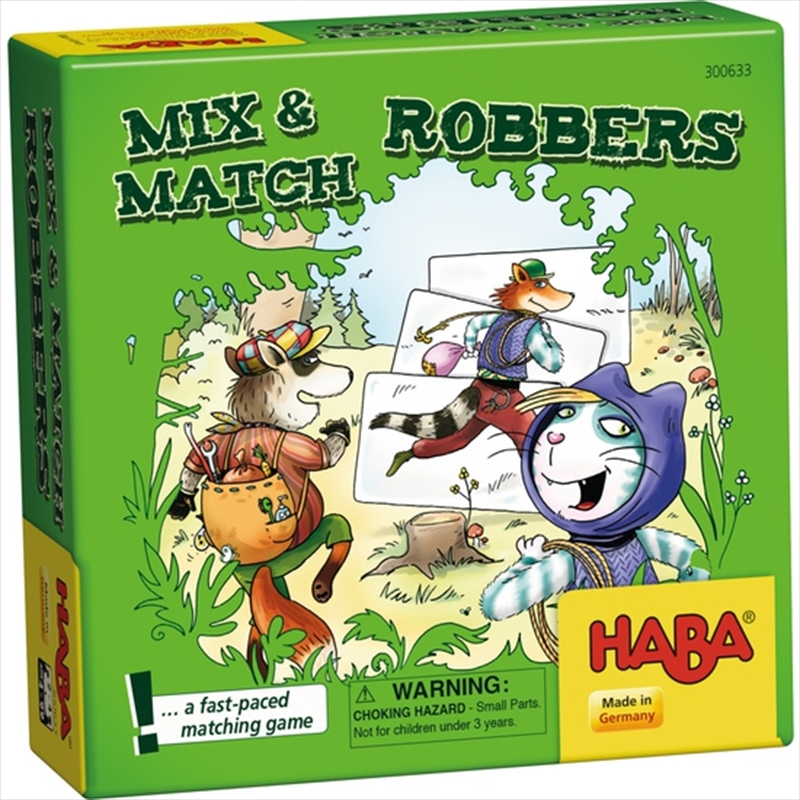 Mix And Match Robbers | Merchandise
