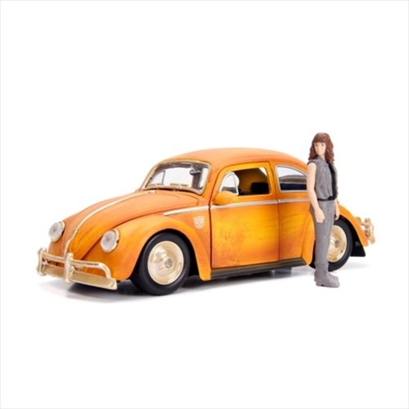 Transformers - 1971 Volkswagon Beetle Bumblebee 1:24 Hollywood Ride | Merchandise